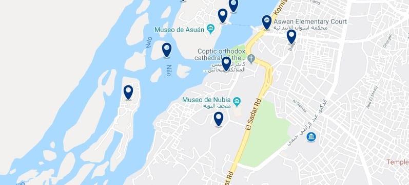 Alojamiento cerca del Obelisco Inacabado de Aswan - Haz clic para ver todos el alojamiento disponible en esta zona