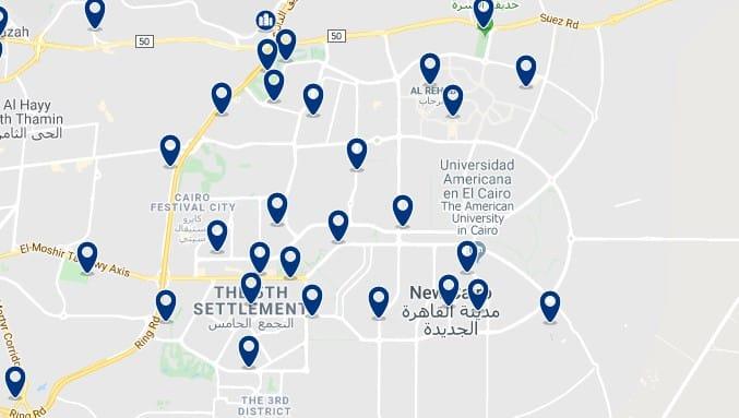 Alojamiento en New Cairo - Haz clic para ver todos el alojamiento disponible en esta zona
