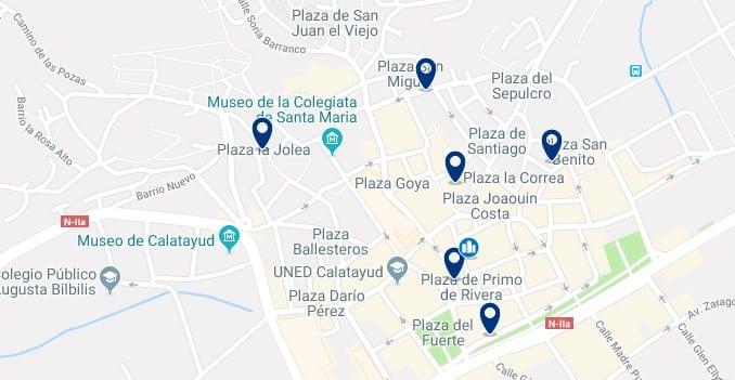 Alojamiento en el Centro de Calatayud - Haz clic para ver todos el alojamiento disponible en esta zona