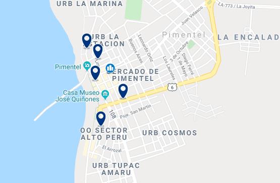 Alojamiento en Pimentel - Haz clic para ver todo el alojamiento disponible en esta zona