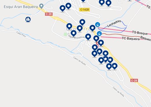 Alojamiento en Baqueira/ Beret - Haz clic para ver todo el alojamiento disponible en esta zona