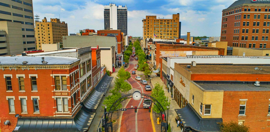 Dónde alojarse en Evansville, Indiana