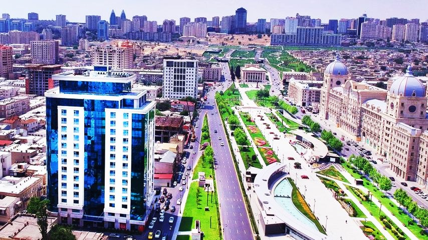 Mejores zonas donde dormir en Bakú - Nasimi