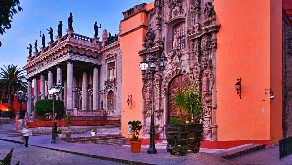 Alojarse en Guanajuato - Centro Histórico