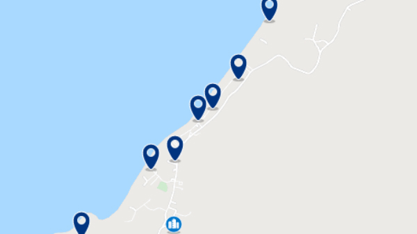 Accommodation in Santa Marianita – Click on the map to see all available accommodation in this area