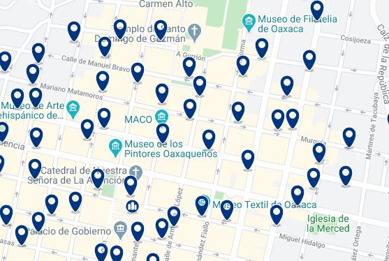 Alojamiento en el Centro Histórico - Haz clic para ver todo el alojamiento disponible en esta zona
