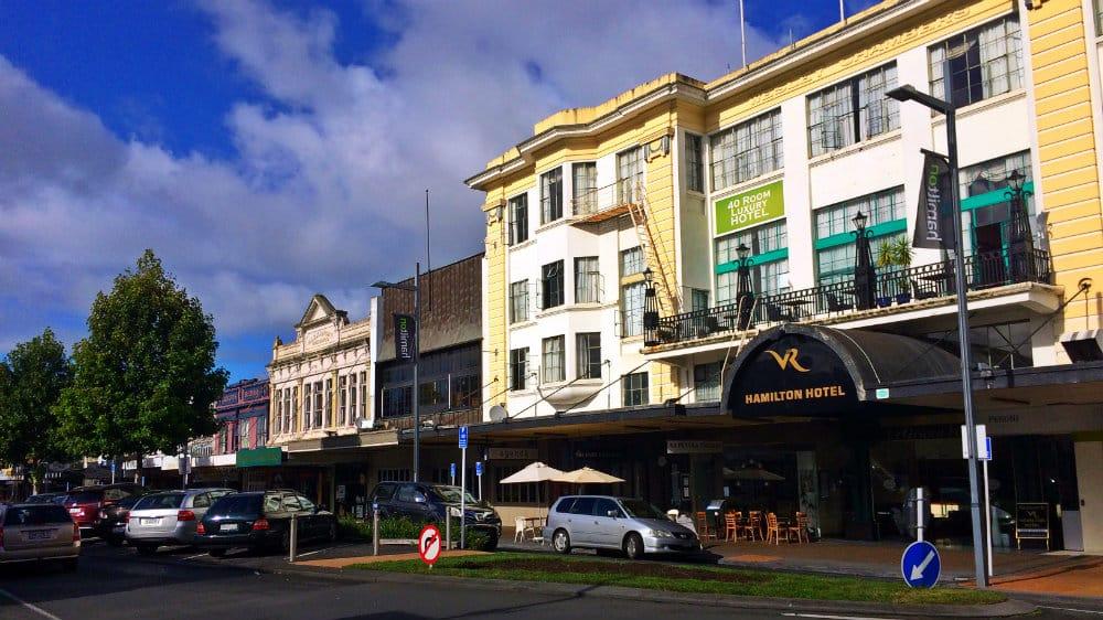 Dónde hospedarse para visitar Hobbiton Movie Set, Nueva Zelanda - Hamilton