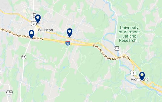 Alojamiento cerca de la University of Vermont - Haz clic para ver todo el alojamiento disponible en esta zona