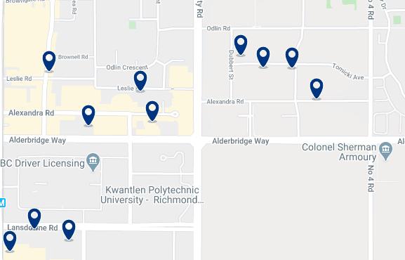 Alojamiento en Golden Village Richmond - Haz clic para ver todo el alojamiento disponible en esta zona