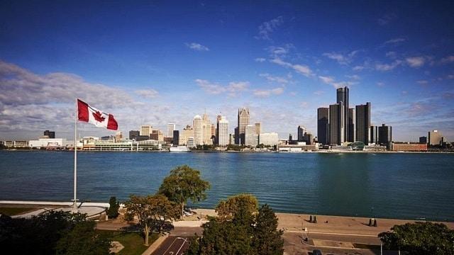 Mejores zonas donde alojarse en Windsor, Canadá - Downtown Windsor
