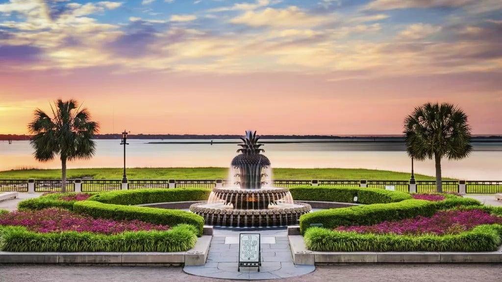 Zona recomendada donde alojarse en Charleston, Virginia del Sur - Downtown