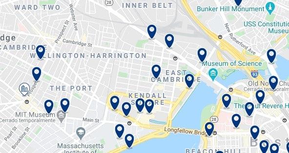 Alojamiento en East Cambridge, MA - Haz clic para ver todos el alojamiento disponible en esta zona