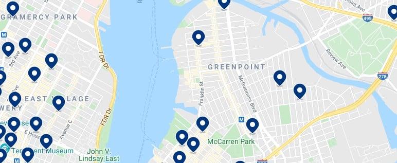 Alojamiento en Greepoint - Haz clic para ver todos el alojamiento disponible en esta zona