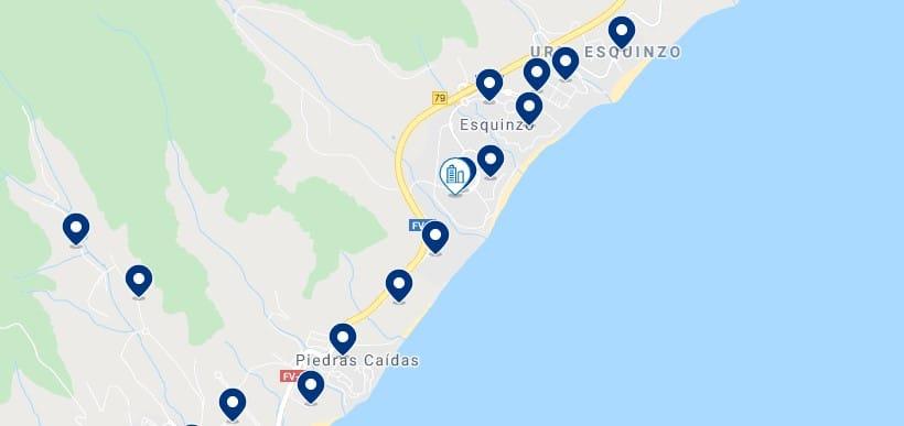 Alojamiento en Esquinzo & Playa de Jandía - Haz clic para ver todo el alojamiento disponible en esta zona