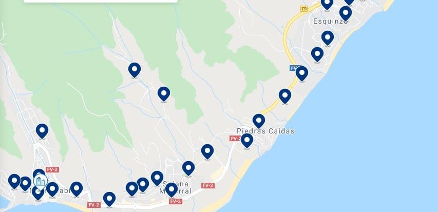 Alojamiento en Morro Jable & Jandía - Haz clic para ver todo el alojamiento disponible en esta zona