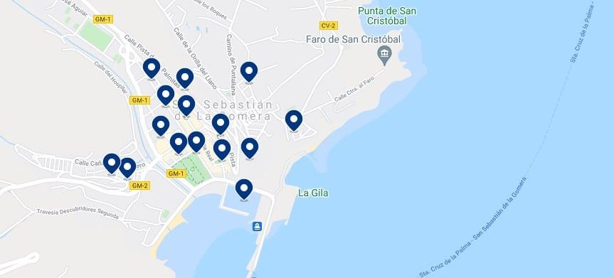 Alojamiento en San Sebastián de La Gomera - Haz clic para ver todo el alojamiento disponible en esta zona