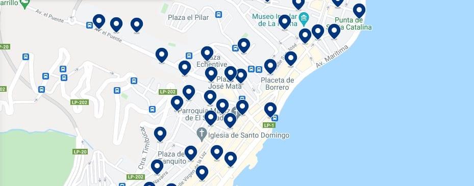 Alojamiento en Santa Cruz de La Palma - Haz clic para ver todo el alojamiento disponible en esta zona