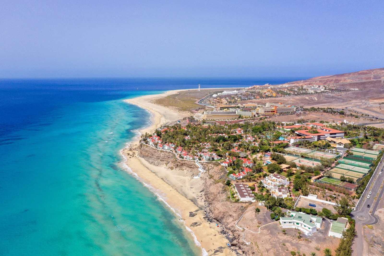 Las mejores zonas donde alojarse en Fuerteventura, Islas Canarias