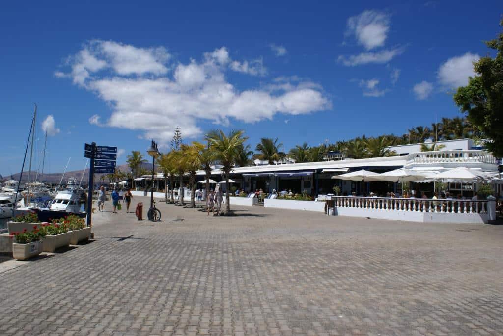Zona de lujo donde hospedarse en Lanzarote - Puerto Calero