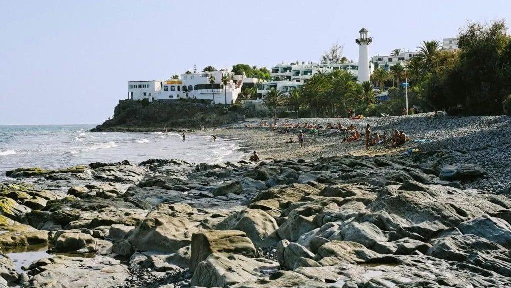 Zona de playa recomendada donde dormir en la isla de Gran Canaria - San Agustín
