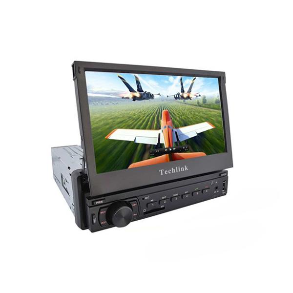 Techlink TE-7500 IN-DASH Bluetooth / Tv / SD Card/ USB Çalar (CD Mekaniksiz)