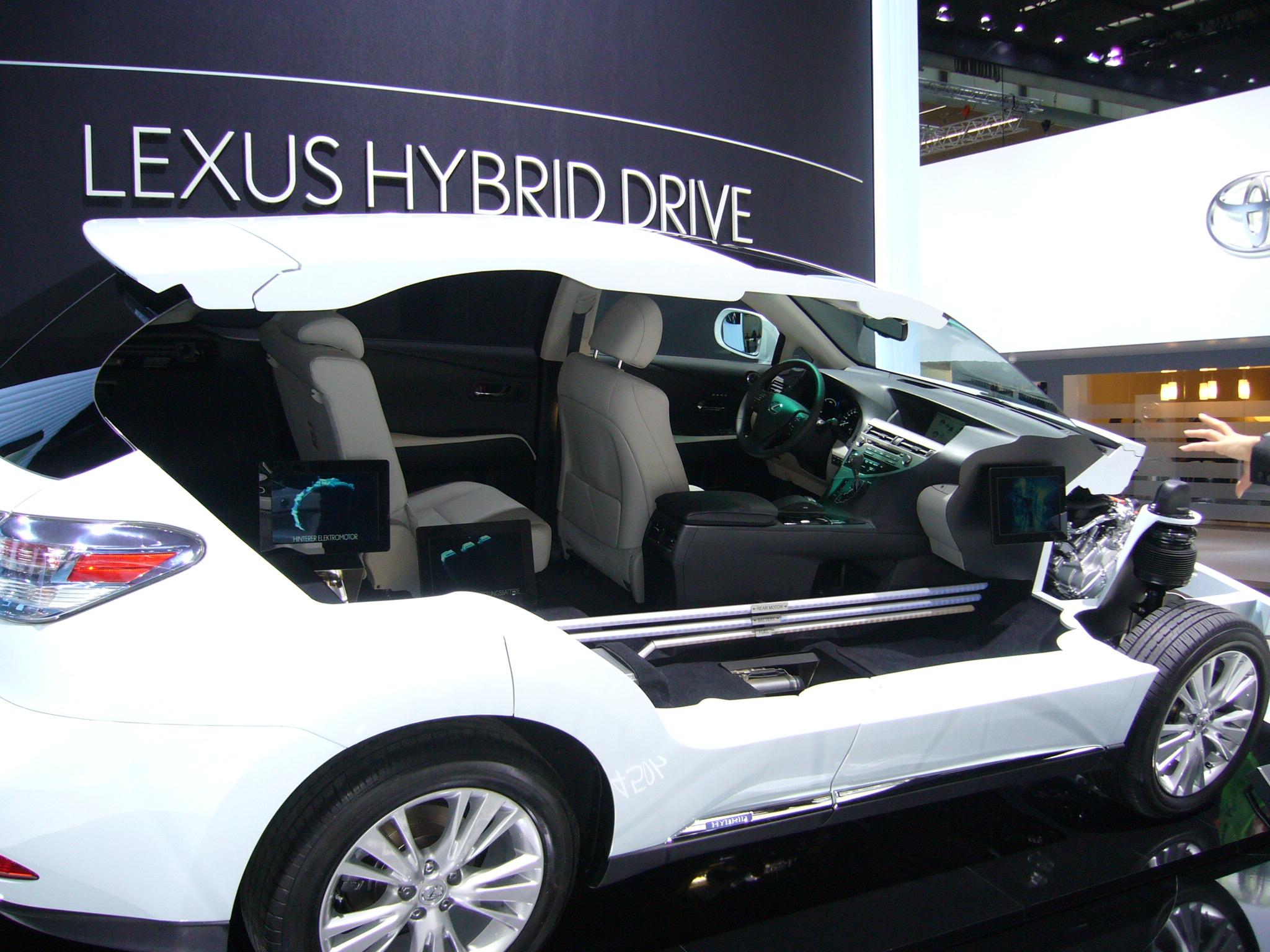Lexus Hybrid Drive; The best hybrid power train