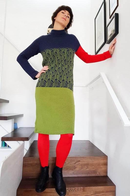 Mekoome lady in green min