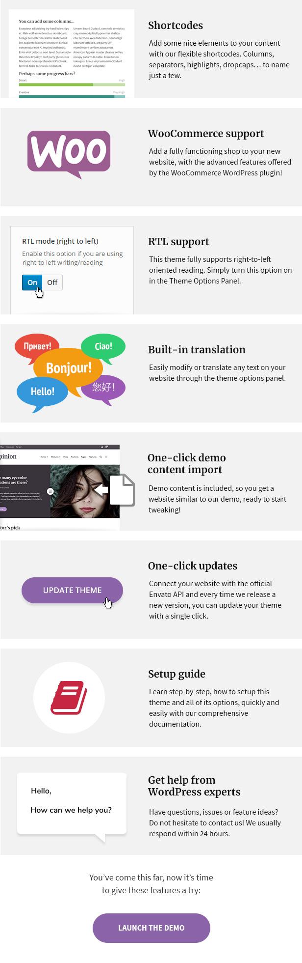 Original - Modern News & Magazine Style WordPress Theme