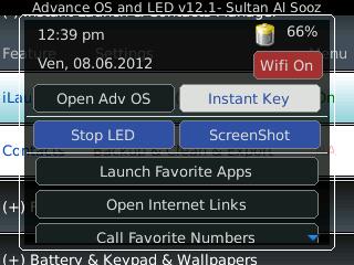 Advanced OS and LED