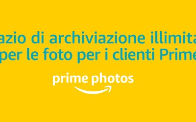 Backup gratis delle foto con Amazon
