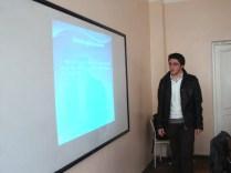 """Şagirdlər üçün """"Sığortalı Gələcək"""" seminarı."""