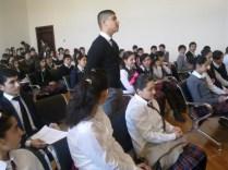 22 məktəbin iştirakı ilə ümum şəhər Məktəb Parlamentinin ilk iclası keçirilib (2)