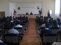 22 məktəbin iştirakı ilə ümum şəhər Məktəb Parlamentinin ilk iclası keçirilib (8)
