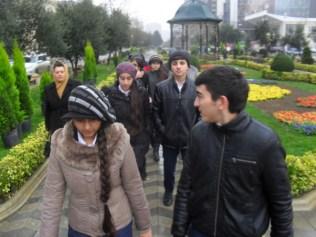7-ci sinif şagirdləri ANA HARAYI abidəsini ziyarət ediblər 2