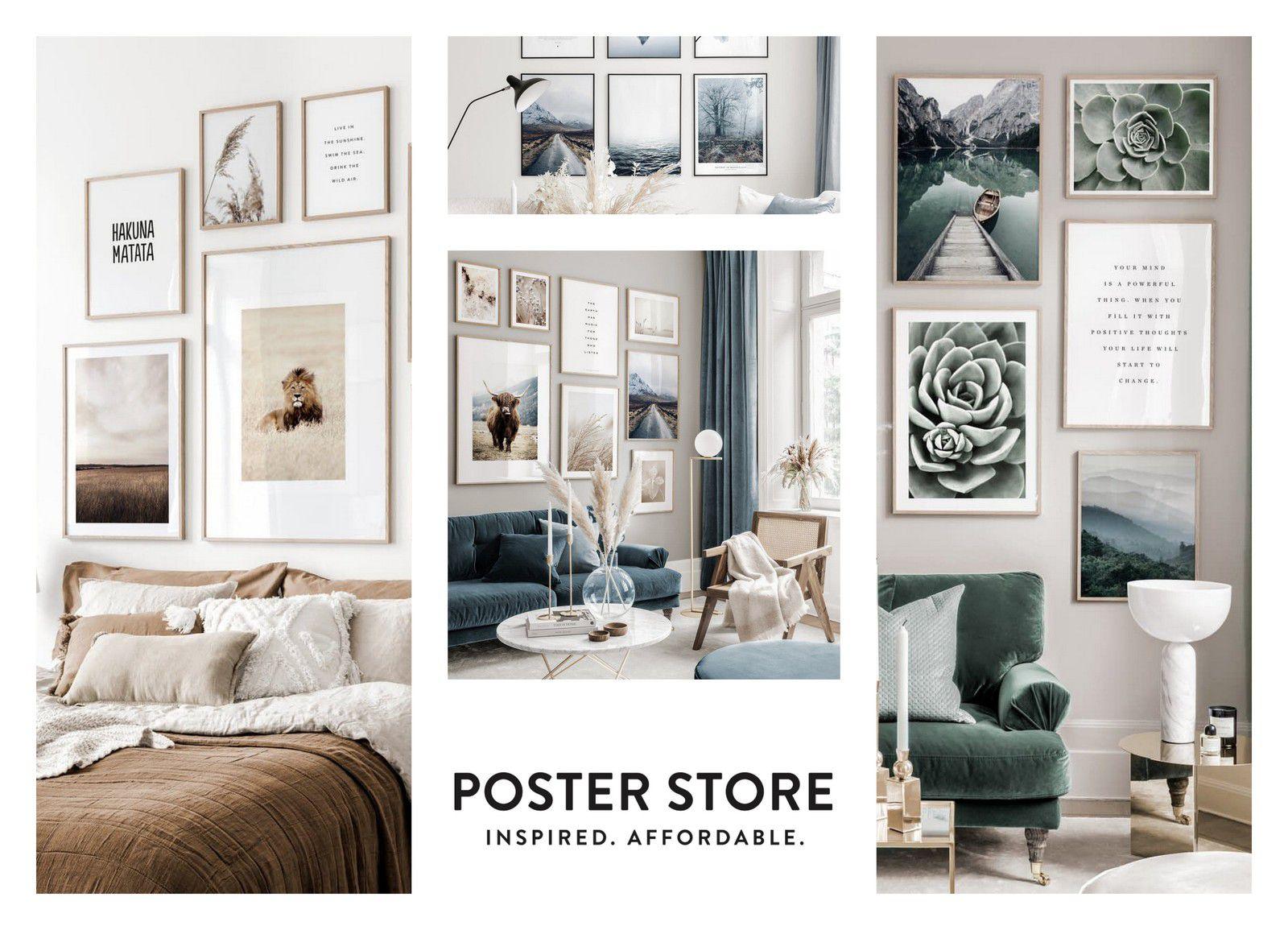 Read more about the article Poster Store : Décore tes murs à prix mini