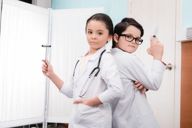 Kids playing doctors @ ZaraMuzafarova