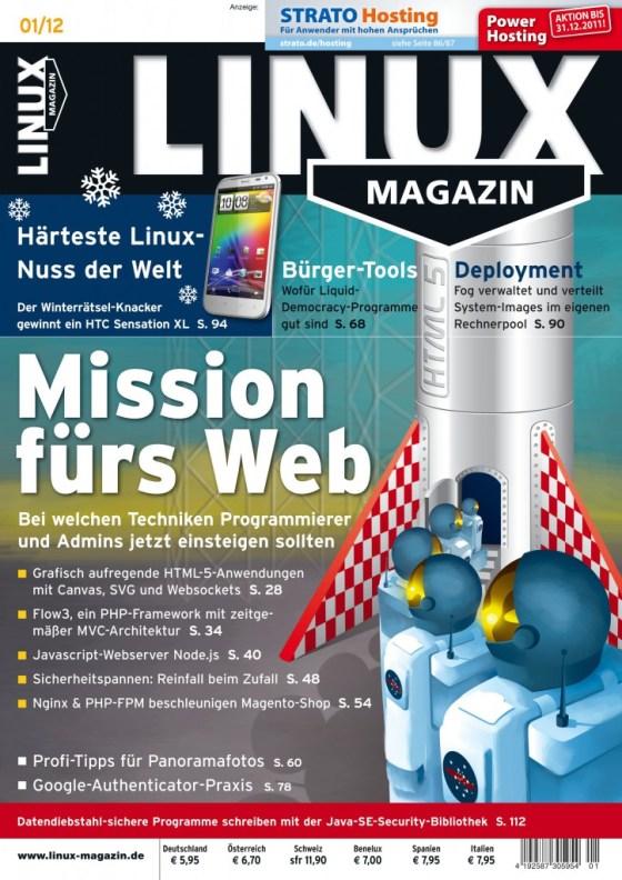 Linux Magazin Ausgabe Januar 2012