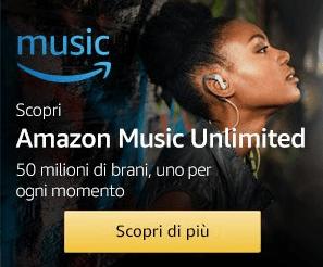 Iscrizione Gratis amazon musica cellulare