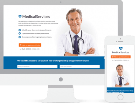 sito vetrina Medico Chirurgo Ortopedico