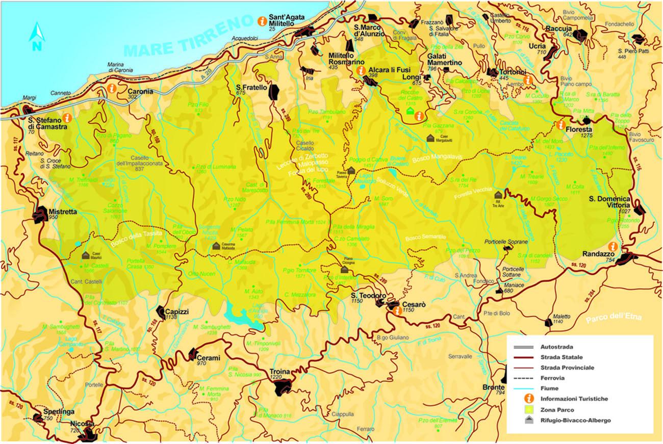 Cartina Autostradale Sicilia