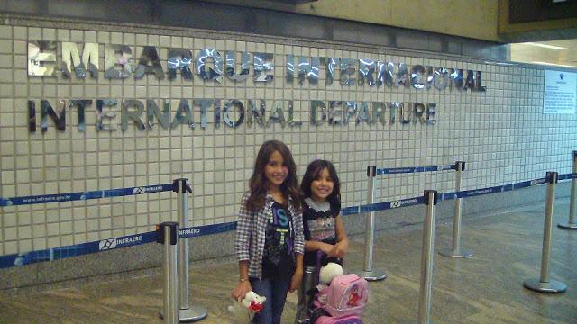 viagem internacional com crianças