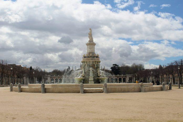Fonte em Aranjuez na Espanha
