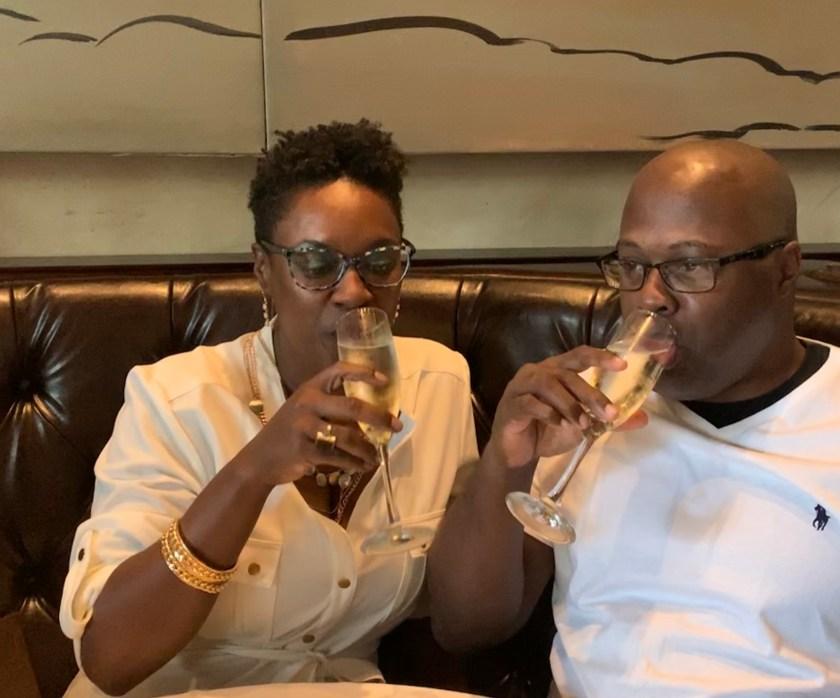 Drinking in Celebration