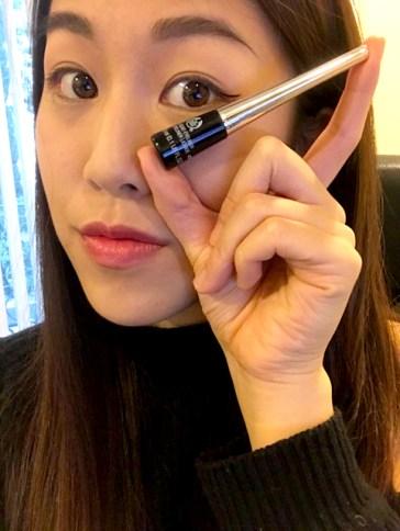 Liquid Liner: The Body Shop Liquid Eyeliner in Black