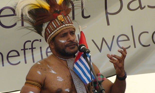 Hon Benny Wenda, President of the Republic of West Papua