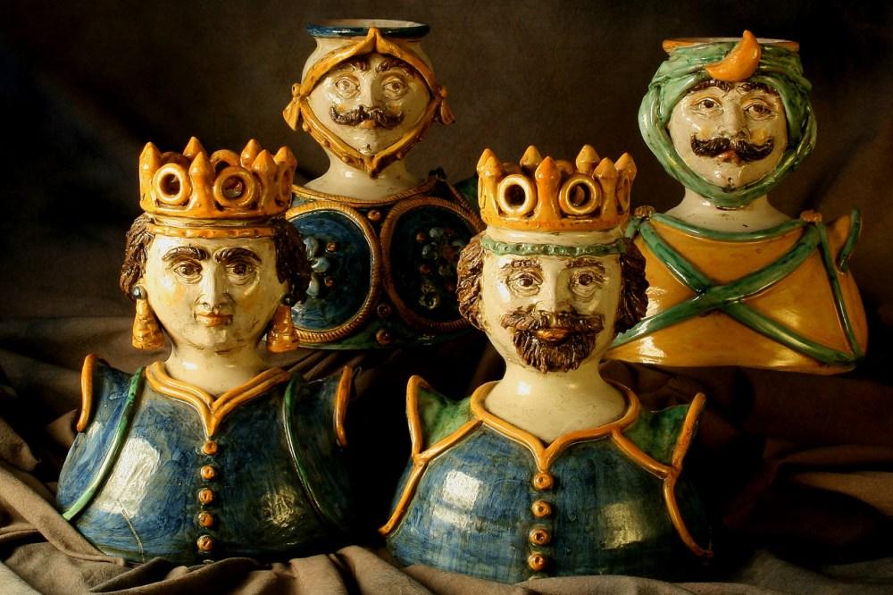 Le ceramiche di Caltagirone (made in Sicilia) diventano gioielli... (2/6)