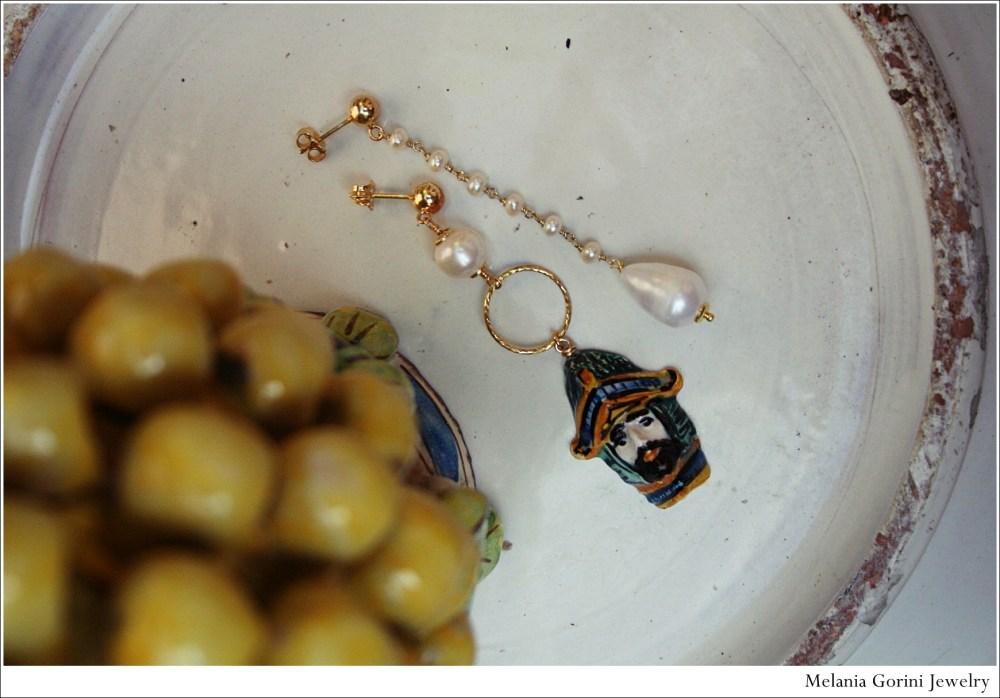 Le ceramiche di Caltagirone (made in Sicilia) diventano gioielli... (5/6)