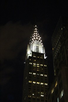 Chrysler Building nuit