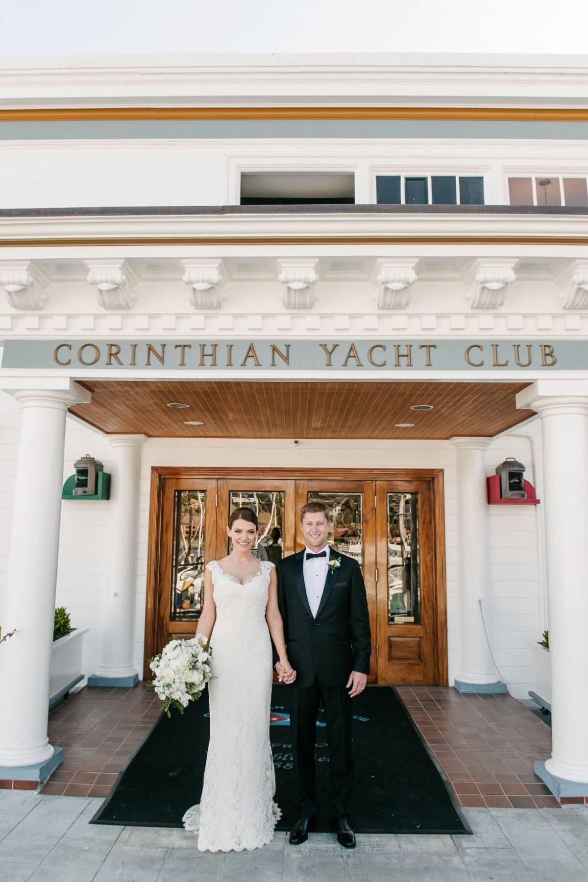 Heather Amp Tyler Classic San Francisco Yacht Club Wedding