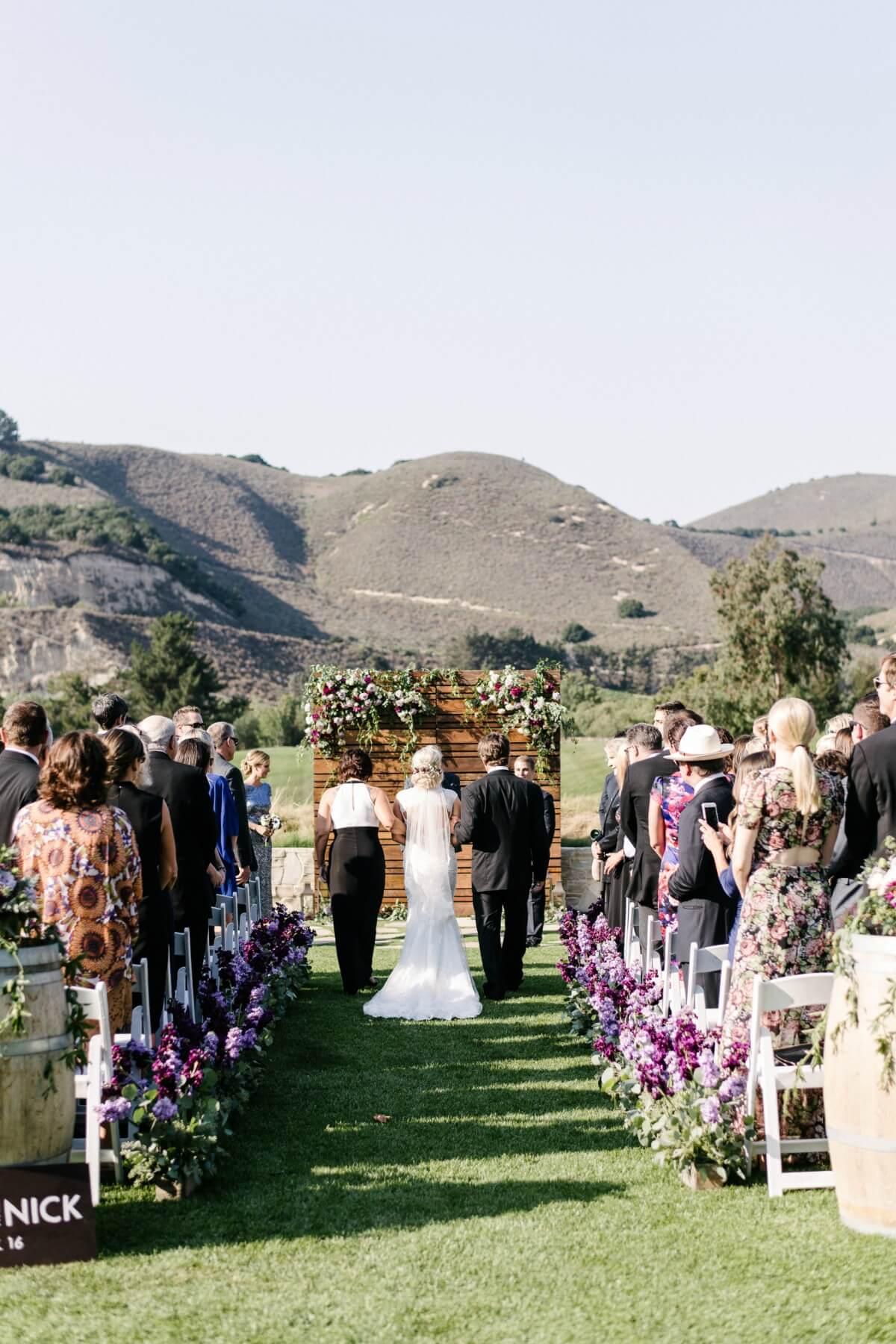 Romantic Carmel Valley Ranch Wedding Melanie Duerkopp